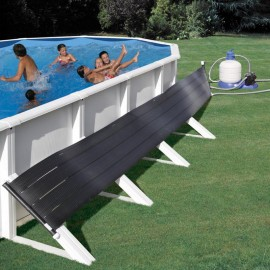 Calefacción solar piscinas desmontables aum. 6ºC